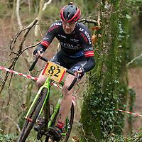 Matt Slattery competing in the Ennis CX Cyclocross Race