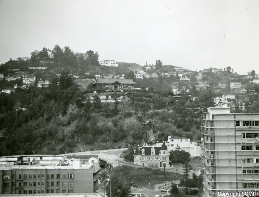 1964 The Magic Castle on Franklin Ave. in the Hollywood Hills