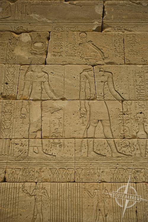 Temple of Dendur at the Metropolitan Museum of Art in NYC.