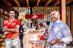PORTOROZ, SLOVENIA - SEPTEMBER 18:  Marko Ziher in VIP  during the WTA 250 Zavarovalnica Sava Portoroz at SRC Marina, on September 18, 2021 in Portoroz / Portorose, Slovenia. Photo by Vid Ponikvar / Sportida