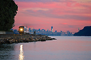 On the anniversary of the tragic events of 9/11, a Metro North train leaves the city behind as the new Freedom Tower rises. Train #857 passing through Dobbs Ferry, NY at 7:19pm on Sept. 11, 2012.