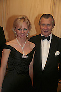 Countess of Derby and  Arnaud Bamberger, Cartier Racing Awards , Four Seasons Hotel, Hamilton Place, London, W1, 15 November 2006. ONE TIME USE ONLY - DO NOT ARCHIVE  © Copyright Photograph by Dafydd Jones 66 Stockwell Park Rd. London SW9 0DA Tel 020 7733 0108 www.dafjones.com
