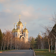 CAPTION: The Russian Orthodox Church at Mamayev Kurgan is part of a memorial complex commemorating World War II's Battle of Stalingrad, arguably the bloodiest battle in human history. LOCATION: Russian Orthodox Church, Mamayev Kurgan, Volgograd, Russia. INDIVIDUAL(S) PHOTOGRAPHED: N/A.