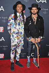 (L-R) JonBoogz and Colin Hornett arrives at the L.A. Dance Project's Annual Gala held at LA Dance Project in Los Angeles, CA on Saturday, October 7, 2017. (Photo By Sthanlee B. Mirador/Sipa USA)