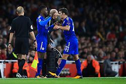 11 August 2017 -  Premier League - Arsenal v Leicester City - Kelechi Iheanacho makes his premier league debut for Leicester City replacing Matty James - Photo: Marc Atkins / Offside.