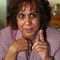 """Toluca, Mex.- Martha Bejarano, coordinadora estatal de las """"Brigadas en Defensa del Petróleo"""", del estado de México, anunció sobre la movilización que tendrá su organización el próximo 31 de agosto en la explana del Teatro Morelos. Agencia MVT / Luis Enrique Hernandez V. (DIGITAL)<br /> <br /> <br /> <br /> NO ARCHIVAR - NO ARCHIVE"""