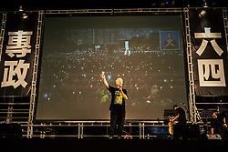 June 4, 2017 - Hong Kong, China - For the 28th year in succession, tens of thousands people had gathered Hong Kong's Victoria Park on the evening of June 4 in commemoration of the anniversary of the 1989 Tiananmen Square massacre in Beijing. (Credit Image: © Yeung Kwan/Pacific Press via ZUMA Wire)