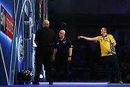 Dave Chisnall during the World Darts Championships 2018 at Alexandra Palace, London, United Kingdom on 29 December 2018.