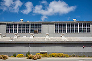 Former Hughes Aircraft hangar for the Spruce Goose, Silicon Beach, PLaya Vista, Los Angeles, California, USA