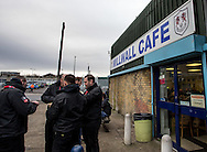 Millwall Cafe during the FA Cup match at The Den, London<br /> Picture by Liam McAvoy/Focus Images Ltd 07413 543156<br /> 29/01/2017