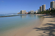 Waikiki Beach, Waikiki, Oahu, Hawaii, USA