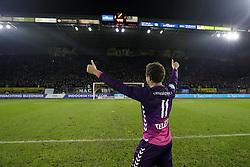 Cyriel Dessers of FC Utrecht during the Dutch Eredivisie match between NAC Breda and FC Utrecht at the Rat Verlegh stadium on December 23, 2017 in Breda, The Netherlands