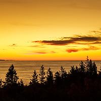 Sunrise in Acadia National Park - Bar Harbor, Maine