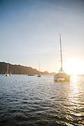 A trip down to the Windward Islands of St Lucia and Grenada aboard a Moorings 4800 catamaran, Korina.