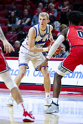 NORMAL, IL - February 22: Garrett Sturtz during a college basketball game between the ISU Redbirds and the Drake Bulldogs on February 22 2020 at Redbird Arena in Normal, IL. (Photo by Alan Look)