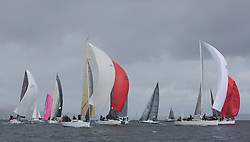 The third days racing at the  Silvers Marine Scottish Series 2015, organised by the  Clyde Cruising Club<br /> Based at Tarbert,  Loch Fyne from 22rd-24th May 2015<br /> <br /> IRC Class 1,  start, GBR5991T, Prime Suspect, Charlie Frize, CCC, Mills 36, GBR7745R, Eala of Rhu, J McGarry / C Moore, RNCYC, Swan 45<br /> <br /> <br /> Credit : Marc Turner / CCC<br /> For further information contact<br /> Iain Hurrel<br /> Mobile : 07766 116451<br /> Email : info@marine.blast.com<br /> <br /> For a full list of Silvers Marine Scottish Series sponsors visit http://www.clyde.org/scottish-series/sponsors/