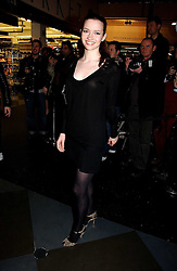 Actress TALULAH RILEY at a party to celebrate the launch of a range of leather accessories designed by Giles Deacon for Mulberry held at Harvey Nichols, Knightsbridge, London on 30th October 2007.<br /><br />NON EXCLUSIVE - WORLD RIGHTS