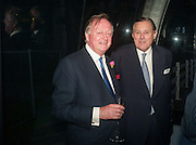 ANDREW PARKER BOWLES; DAVID KER, CARTIER CHELSEA FLOWER SHOW DINNER Dinner hosted by Cartier in celebration of the Chelsea Flower Show was held at Battersea Power Station. 22 May 2012