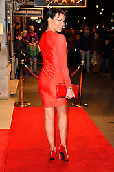 © Licensed to London News Pictures. 16/02/2016. LIZZIE CUNDY arrives for the press night of Mrs Henderson Presents press night at the Noel Coward Theatre. London, UK. Photo credit: Ray Tang/LNP
