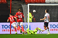 Callum O'Dowda (11) of Bristol City scores a goal to make the score 1-1 during the The FA Cup fourth round match between Bristol City and Bolton Wanderers at Ashton Gate, Bristol, England on 25 January 2019.