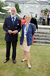HRH PRINCE MICHAEL OF KENT and the COUNTESS OF MARCH at the Cartier Style et Luxe, the Goodwood Festival of Speed, West Sussex on 13th July 2008.<br /> <br /> NON EXCLUSIVE - WORLD RIGHTS