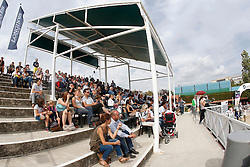 Riders tribune<br /> Team consolation competition<br /> Furusiyya FEI Nations Cup Jumping Final<br /> CSIO Barcelona 2013<br /> © Dirk Caremans