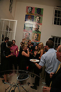 Party hosted by Sir Richard and Lady Ruth Rogers at their house in Chelsea  to celebrate the extraordinary achievement of completing this year's Pavilion  by Olafur Eliasson and Kjetil Thorsenat at the Serpentine.  13 September 2007. -DO NOT ARCHIVE-© Copyright Photograph by Dafydd Jones. 248 Clapham Rd. London SW9 0PZ. Tel 0207 820 0771. www.dafjones.com.