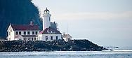 Point Wilson Lighthouse, Port Townsend, Admiralty Inlet, Puget Sound, Washington, USA