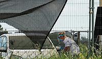 covid 19 testing site Milton Keynes  photo by Mark Anton Smith