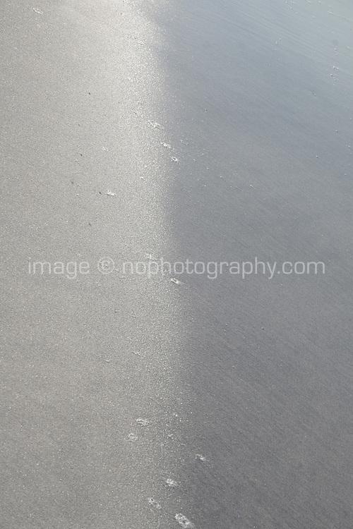 edge of beach on Inis Mor the Aran Islands County Galway Ireland