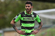 Forest Green Rovers Kaiyne Woolery(14) during the Vanarama National League match between Forest Green Rovers and Chester FC at the New Lawn, Forest Green, United Kingdom on 14 April 2017. Photo by Shane Healey.