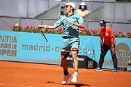 Kei Nishikori of Japan during the Mutua Madrid Open 2021, Masters 1000 tennis tournament on May 4, 2021 at La Caja Magica in Madrid, Spain - Photo Laurent Lairys / ProSportsImages / DPPI