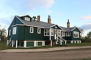 Historic York Lodge on the Delta Marsh in Manitoba, Canada