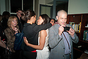 THANDIE NEWTON; ROSARIO DAWSON; , Party after the opening of  A Memory, A Monologue, A Rant, and A Prayer  at Century Club.  Restless Buddha's fundraising event helping women around the world. All proceeds raised from the sale of tickets go to Women for Women International, V-Day and Domestic Violence Intervention Project. 26 March 2012