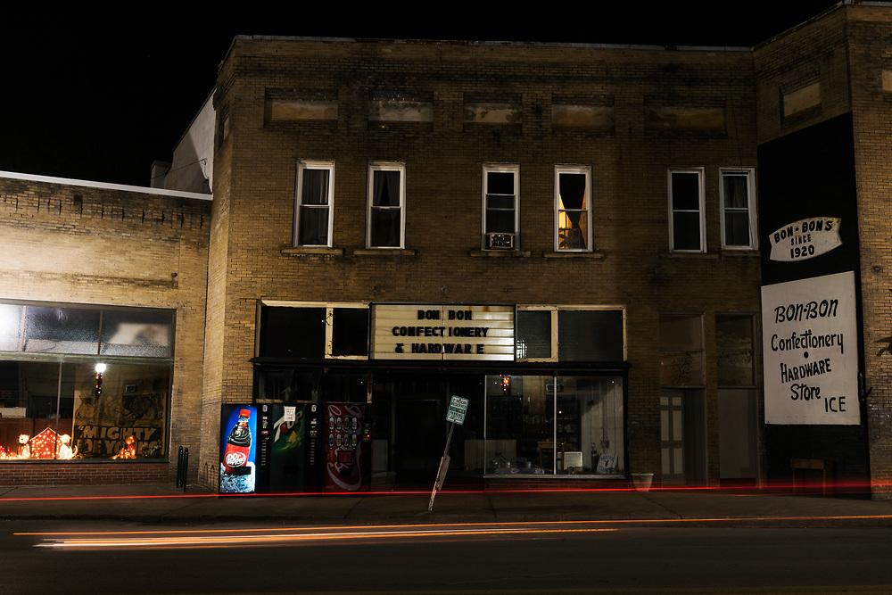 Main Street. Mt. Hope. Fayette County, West Virginia.