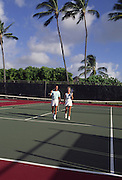 Tennis, Hawaii, USA<br />
