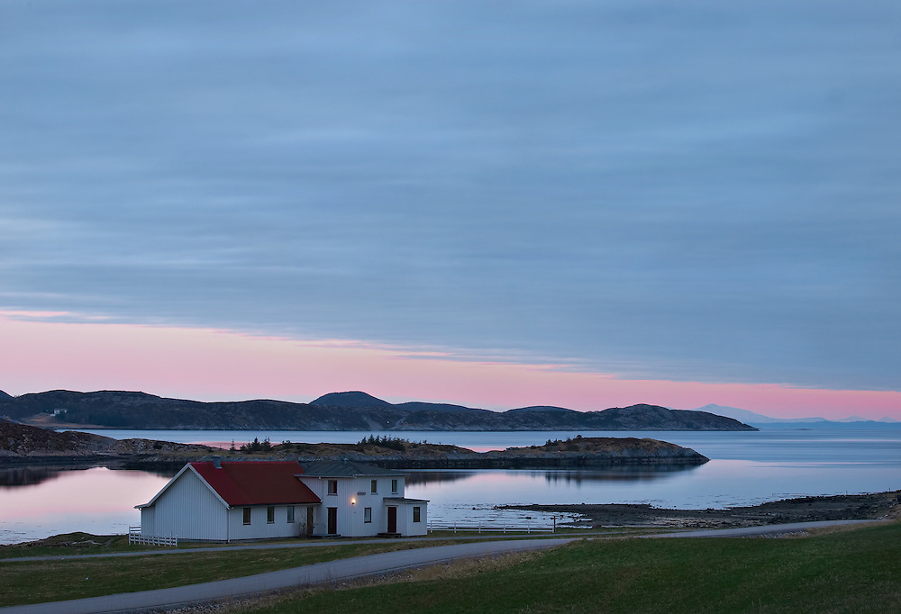 Norway - Sunset in Bakkan-Wahl