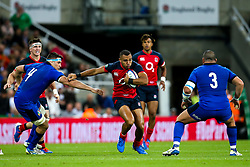 Joe Marchant of England - Mandatory by-line: Robbie Stephenson/JMP - 06/09/2019 - RUGBY - St James's Park - Newcastle, England - England v Italy - Quilter Internationals