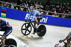 March 1, 2019 - Pruszkow, Poland - Lotte Kopecky (BEL) during the Women's Omnium Points Race at the UCI Track Cycling World Championships in Pruszkow on March 1, 2019. (Credit Image: © Foto Olimpik/NurPhoto via ZUMA Press)