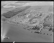 "Ackroyd 15540-04 ""Port of Portland. Aerials at Rivergate. August 30, 1968""<br /> Oregon Steel Mills."