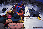 River raft running Hermit Rapids, Grand Canyon National Park, Arizona..Subject photograph(s) are copyright Edward McCain. All rights are reserved except those specifically granted by Edward McCain in writing prior to publication...McCain Photography.211 S 4th Avenue.Tucson, AZ 85701-2103.(520) 623-1998.mobile: (520) 990-0999.fax: (520) 623-1190.http://www.mccainphoto.com.edward@mccainphoto.com.
