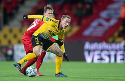 Rune Frantsen (AC Horsens) under kampen i 3F Superligaen mellem FC Nordsjælland og AC Horsens den 19. februar 2020 i Right to Dream Park, Farum (Foto: Claus Birch).