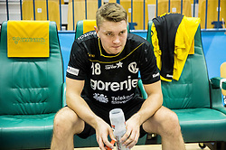 Michal Szyba  of RK Gorenje after the handball match between RK Celje Pivovarna Lasko and RK Gorenje Velenje in Eighth Final Round of Slovenian Cup 2015/16, on December 10, 2015 in Arena Zlatorog, Celje, Slovenia. Photo by Vid Ponikvar / Sportida