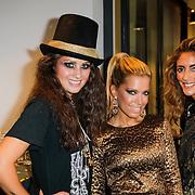 NLD/Amsterdam/20120905 - Lancering sieradenlijn Gassan Diamonds en Danie Bles gepresenteerd aan Sylvie van der Vaart, Sylvie met Danie Bles