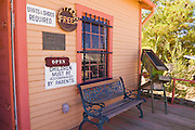 The historical museum at the ghost town of Randsburg, California
