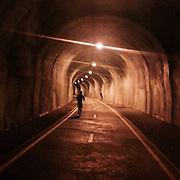 Zizkov. #prag #praha #Prague #czechrepublic #tunnel #night #zizkov #runner #vision #street #public