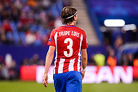 Atletico de Madrid's player Filipe Luis during a match of UEFA Champions League at Vicente Calderon Stadium in Madrid. November 01, Spain. 2016. (ALTERPHOTOS/BorjaB.Hojas)