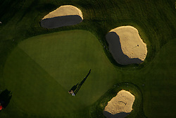 Aerial of golf course, South Bend, Indiana..Photo by Matt Cashore..Use of this image prohibited without authorization and/or compensation..To contact Matt Cashore:.574.220.7288.574.233.6124.cashore1@michiana.org.www.mattcashore.com