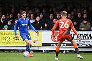 AFC Wimbledon Defender Steve Seddon (15) during the EFL Sky Bet League 1 match between AFC Wimbledon and Wycombe Wanderers at the Cherry Red Records Stadium, Kingston, England on 27 April 2019.