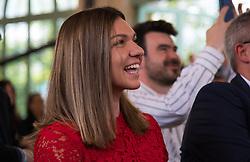 May 23, 2019 - Paris, FRANCE - Simona Halep of Romania at the draw ceremony of the 2019 Roland Garros Grand Slam tennis tournament (Credit Image: © AFP7 via ZUMA Wire)
